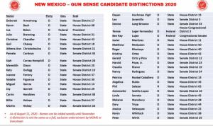 gun sense candidates